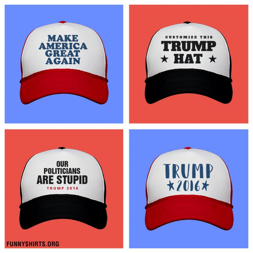Custom Donald Trump Hat