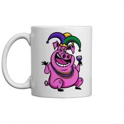 Mardi Gras Coffee Mugs