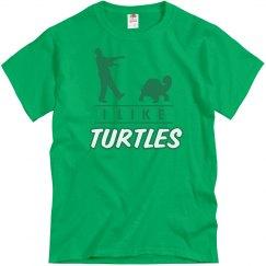 Zombie Likes Turtles