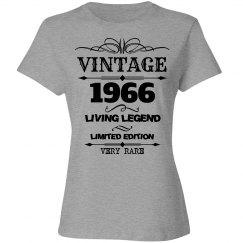 Vintage 1966 living legend