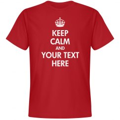Custom Keep Calm Shirts