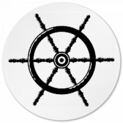 Ship Wheel Coaster