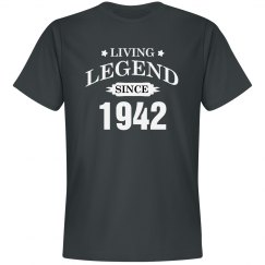 Living legend since 1942
