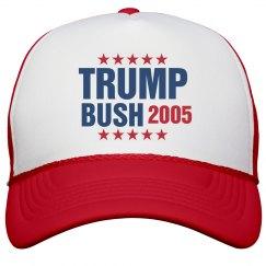 Vote Donald Trump / Billy Bush 2005 Trucker Hat