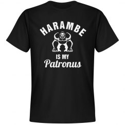 Harambe Is My Patronus Black