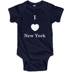 I Love NY Onesie