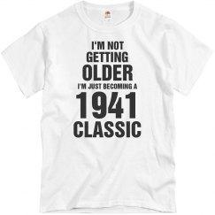 1941 classic birthday shirt