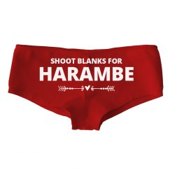 Red Shoot Blanks For Harambe
