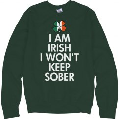 Irish And Never Sober