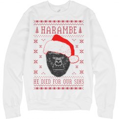 Harambe Sweater Christmas Party