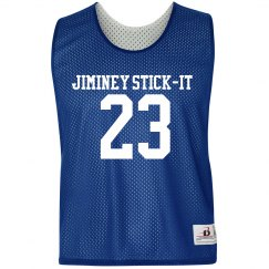 Lacrosse Number Pinnie
