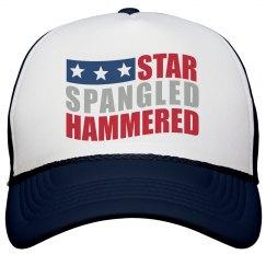 Star Spangled Hammered