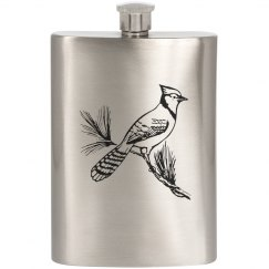 Blue Jay Flask