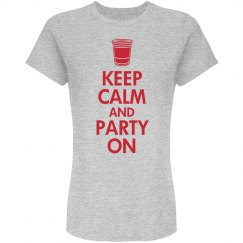 Party On Beer Tee