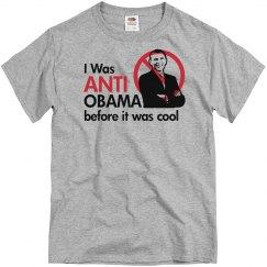 I Was Anti Obama Before