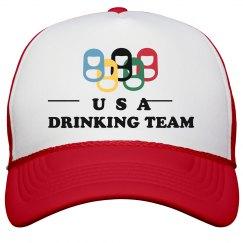 Drinking Team Neon Hat