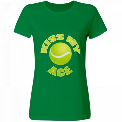 Tennis Humor Kiss My Ace