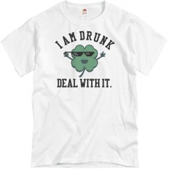 Deal With It Patty Drunk