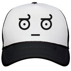 Serious Face Trucker Hat