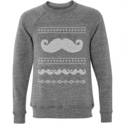Ugly Mustache Sweater