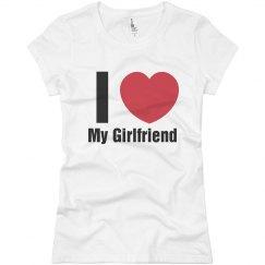 Love Girlfriend T-Shirt