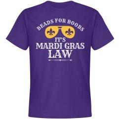 Mardi Gras Law