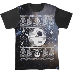 All Over Print Space Ugly Sweater