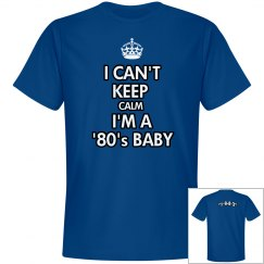 Blue '80's Baby - 1983