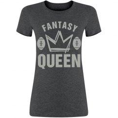 Fantasy Queen Football Tee