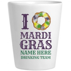 Mardi Gras Love Drinking Team