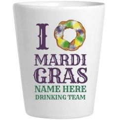 Mardi Gras Love Drinking Team