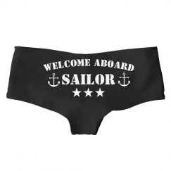 Navy Military Wife Welcome Aboard