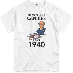 Blowing out candles since 1940