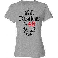 Still fabulous at 45