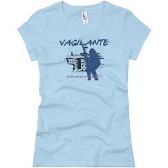 Vagilante #womensmarch2017 Blue