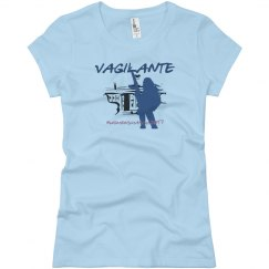 Vagilante #womensmarch2017 Blue