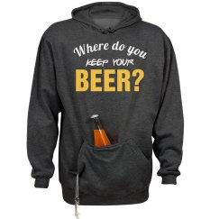 Where Do U Keep Ur Beer?