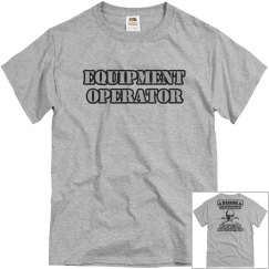 equipment operator tee