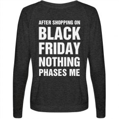 Jaded Black Friday Shopper