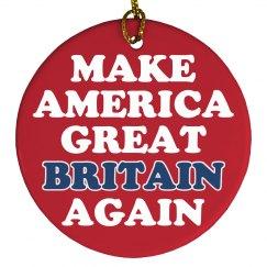 Make America Great Britain Trump