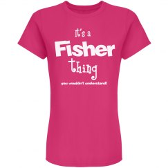 It's a fisher thing