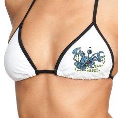 Mardi Gras Swim Top