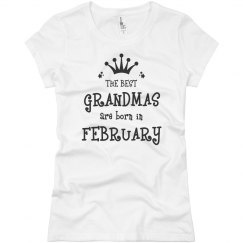 The best grandmas are born in february