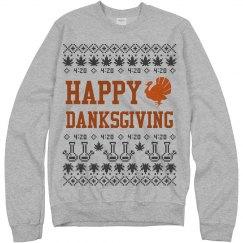 Happy Danksgiving Ugly Sweater