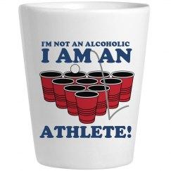 Flip Cup Athlete Shot