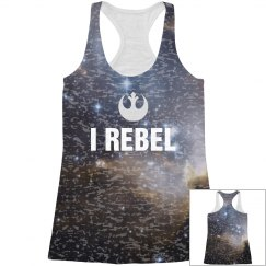 I Rebel All Over Space Print