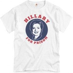 Hillary Clinton for Prison 2016