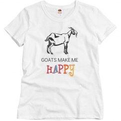 Goats Make Me Happy