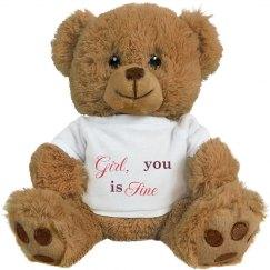 A Smooth Talking Teddy