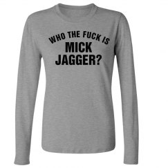 WTF is Jagger Wmns LS Tee